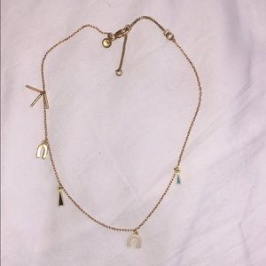 Madewell Dangly Necklace